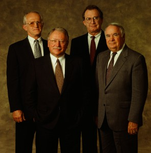 From Left: Dr John Flaxel, Dr. Bruce Spivey, Dr Mike Allen, Dr Reginald Stambaugh