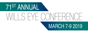 71st Annual Wills Eye Conference, Philadelphia, PA, March 7-9, 2019 @ Sheraton Society Hill Hotel | Philadelphia | Pennsylvania | United States